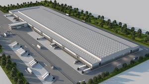 Construction will start in April on the new regional distribution centre