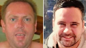 Jonathan Harding (L) and James Walsh appeared before Special Criminal Court