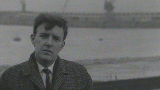 Bill O'Herlihy at Rosslare Harbour (1968)