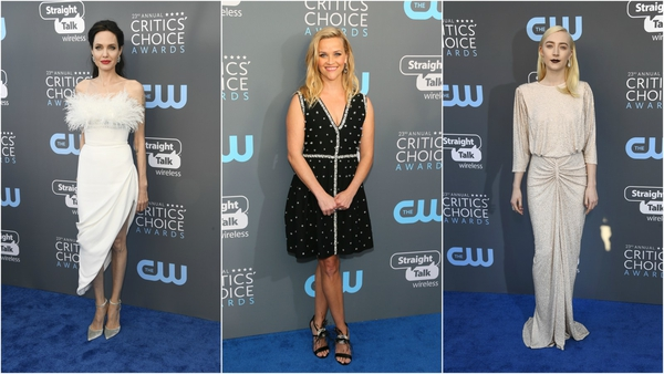 Angelina Jolie, Reese Witherspoon, Saoirse Ronan  and more A-list celebs attended the 23rd Annual Critics' Choice Awards at Barker Hangar last night in Santa Monica, California