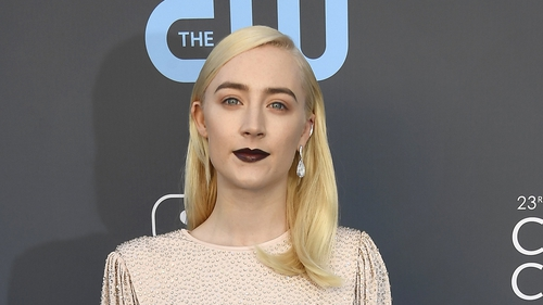 Saoirse Ronan opted for a vintage look at the Critics Choice Awards