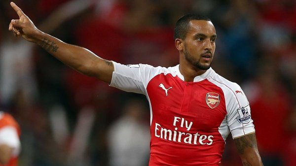 Theo Walcott looks set for a move to Goodison Park