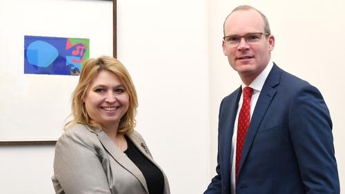Minister for Foreign Affairs Simon Coveney met NI Secretary Karen Bradley in Westminster