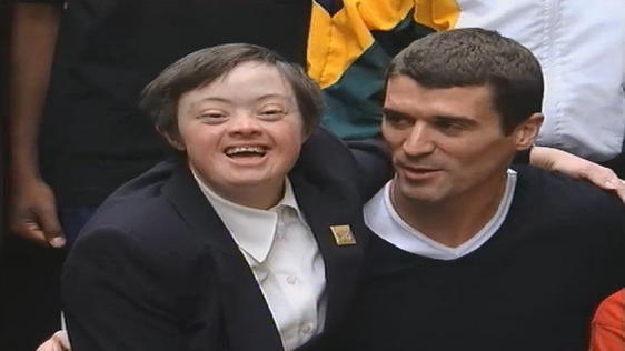 Roy Keane Special Olympics Launch