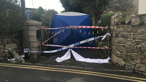 Gardaí were alerted to the discovery of the body at around 8.30am