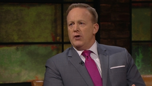 Sean Spicer was speaking on the Late Late Show