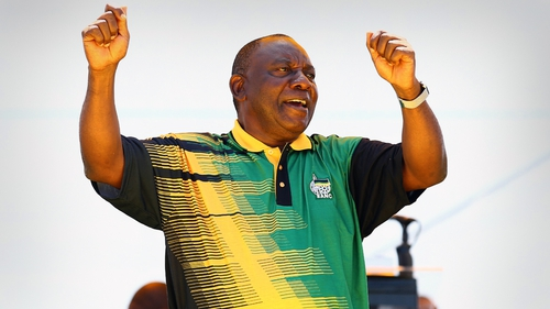 Cyril Ramaphosa said that he will crack down on corruption in South Africa