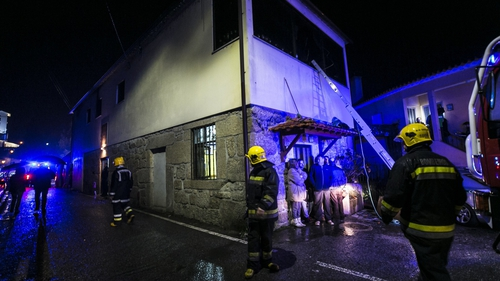 8 killed in Portugal building fire
