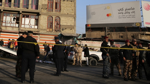 At least 16 killed in Baghdad twin bomb blasts