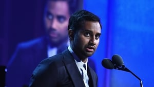Aziz Ansari (pictured at the Peabody Awards in New York in May 2016) has responded to allegation of sexual assault
