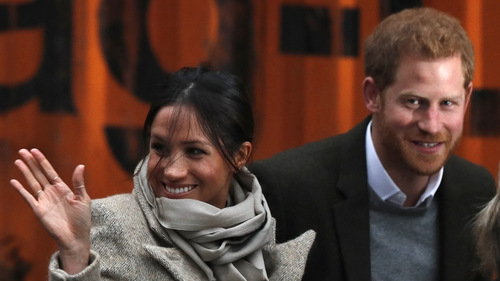 Britain's Prince Harry and his fiancée Meghan Markle will marry on May 19