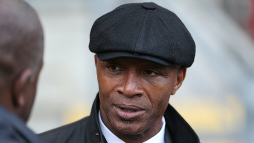 Cyrille Regis won five caps for England between 1982 and 1987