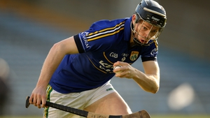 Colm Harty scored Kerry's firs-half goal in the historic 1-23 to 1-13 victory over Cork in Tralee