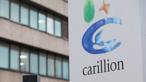 Carillion was part of a consortium contracted to build five schools and one further education college in Ireland