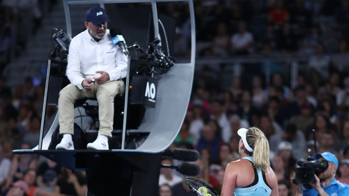 Coco Vandeweghe Has Bizzare Argument Over Banana at Australian Open 2018