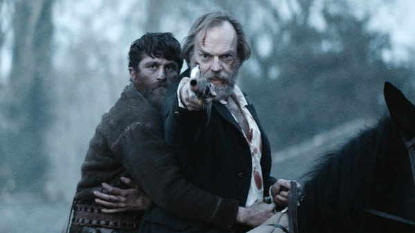 James Frecheville and Hugo Weaving in Black 47