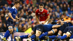 Luke McGrath is hoping to apply pressure on Conor Murray's stranglehold on the Ireland number nine jersey