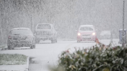 Snow and ice are forecast over the next two days (File pic: James Flanagan)