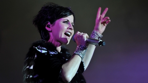 Dolores O'Riordan on stage at the Cognac Blues Passion festival in 2016