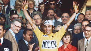 Eddy Merckx won the Tour de France five times from 1969 to 1974.