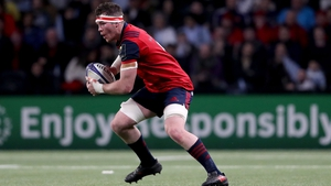 O'Mahony left the field of play last weekend with an ankle injury