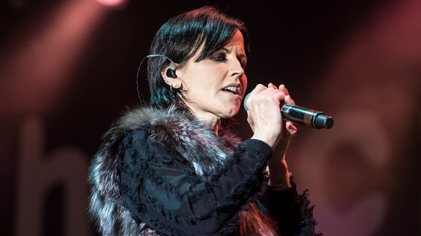 Limerick singer Dolores O'Riordan, who died in 2018
