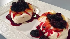 Wade's Citrus Meringue Nests with Mixed Berries is a showstopping dessert.