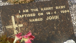 The grave of Baby John in Cahersiveen, Co Kerry