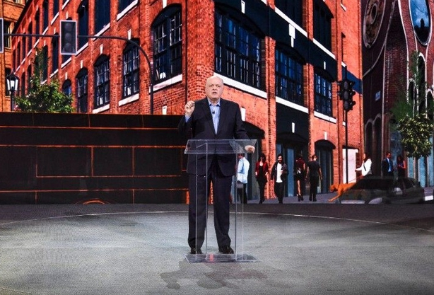 Ford's CEO, Jim Hackett.