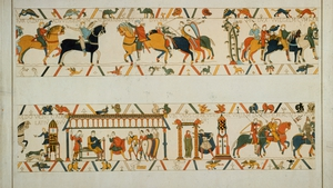 The tapestry, which is nearly 70 metres long, dates from 1077