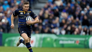 Jordan Larmour will take the wing position vacated by the injured Fergus McFadden