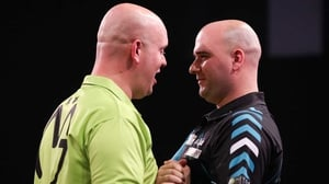 Michael van Gerwen and Rob Cross have a date in Dublin