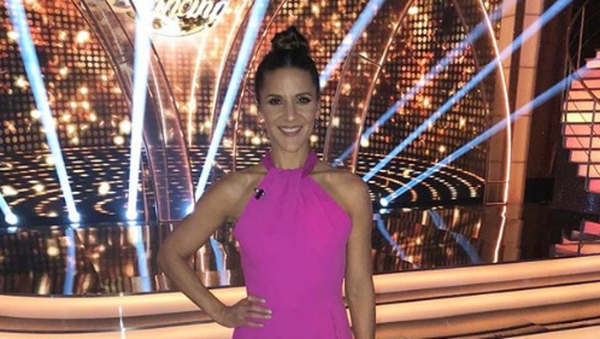 """Amanda Byram: """"I really enjoyed watching the dances because last year we were thinking of it format wise....and this year we knew it all and we could just enjoy it as a spectator."""""""