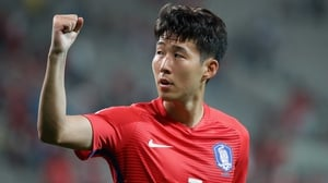 Spurs star Son Heung-min could line out against the North