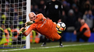 Willy Caballero was the spot-kick king at the Bridge