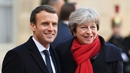 Emmanuel Macron and Theresa May are expected to unveil a new immigration treaty