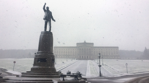 Stormont power-sharing government collapsed last year