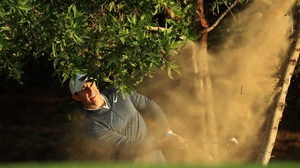 Rory McIlroy: 'I was just trying to hang onto his coat-tails'