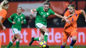 Leanne Kiernan starred for the Republic of Ireland