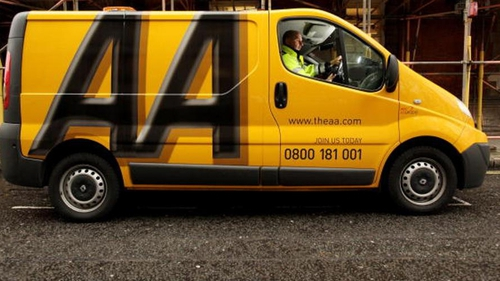 The AA said traffic volumes are down over two thirds