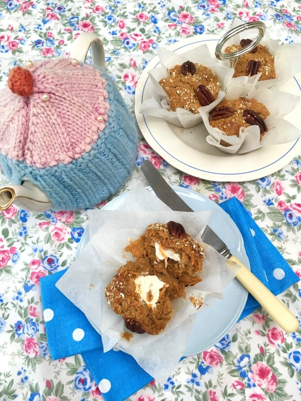 Sharon Hearne Smith's Carrot Cake Muffins