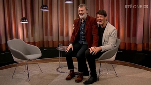 Donncha O'Callaghan was a guest on Tommy Tiernan's chat show