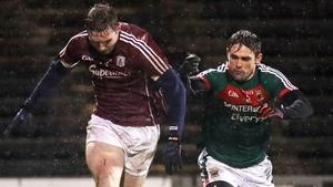 Padraic Cunningham (L) has already sampled a Galway-Mayo encounter
