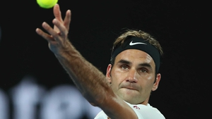 Roger Federer is in to the third round