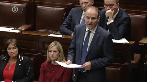 Micheál Martin said that 'if we are sincere in our compassion for women ... then we must act'