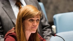 Samantha Power, who was born in Ireland, said she foresees 'push back' from within the Republican Party