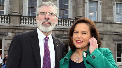 Mary Lou McDonald is expected to succeed Gerry Adams as Sinn Féin president
