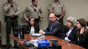 David Allen Turpin (second right) and Louise Anna Turpin (left) appeared in court in California