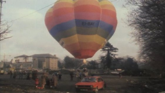 Marking Ireland's First Balloon Flight