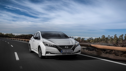 Nissan's new Leaf has a much longer range than before.
